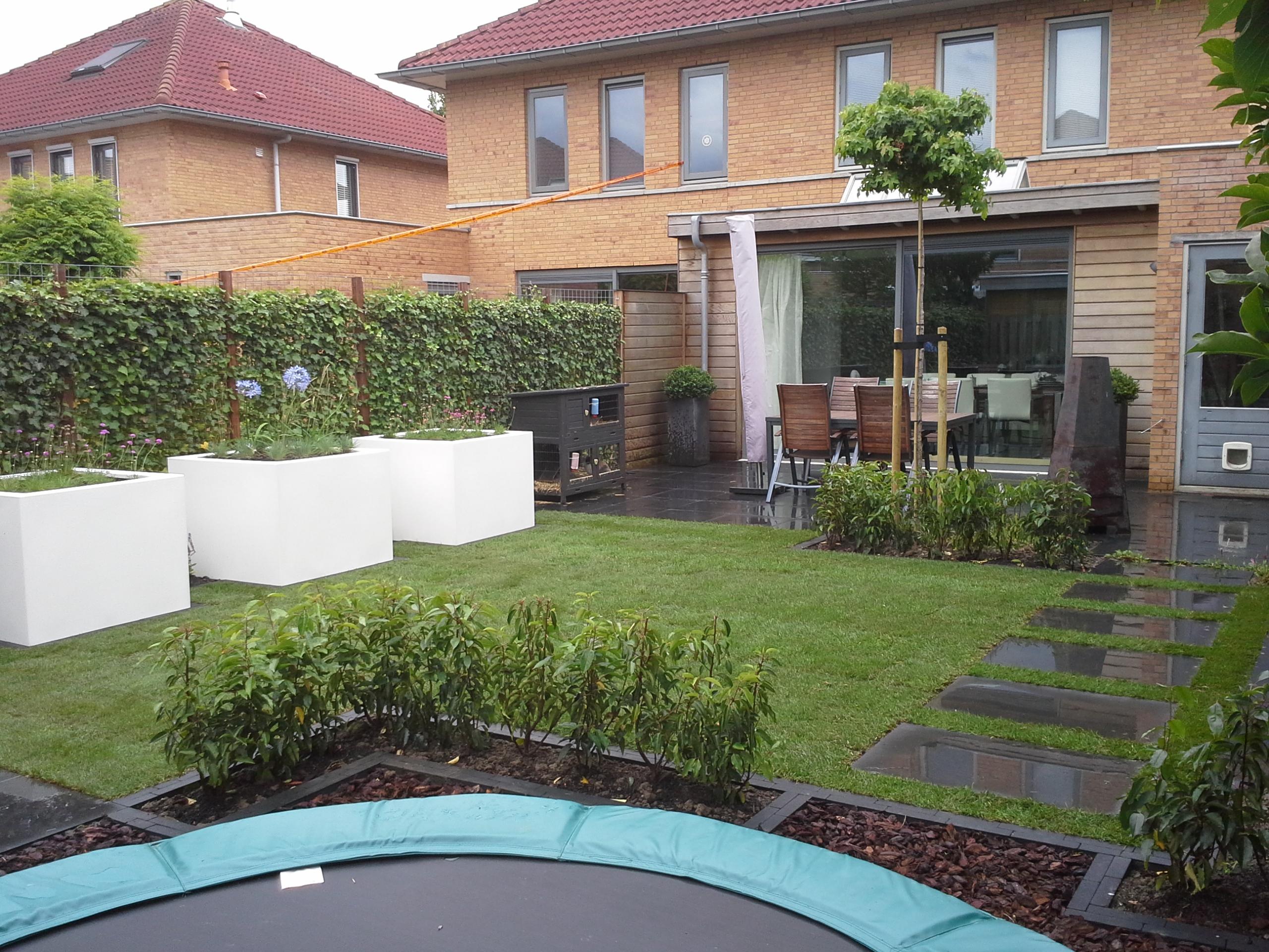 kindvriendelijke tuin de ontluiking
